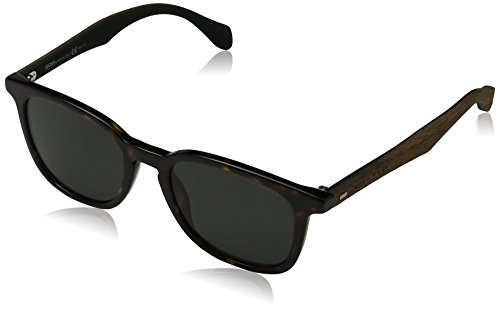 BOSS Hugo Herren 0843/S RA RAH Sonnenbrille, Braun (Havana Brown/Grey Pz), 52
