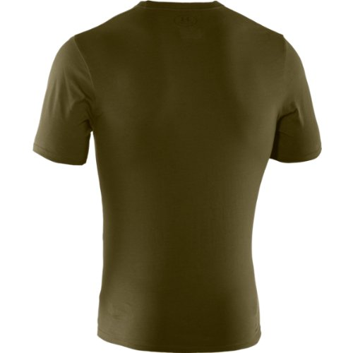 Under Armour T-Shirt Tactical Charged Cotton Olivgrün