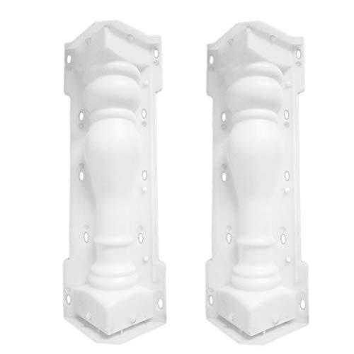 Pilastri centrali scale
