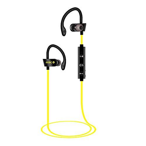 Sencillo Vida Auriculares Deportivos Bluetooth inalámbricos, Cancelación de Ruido, Auriculares estéreo portátiles, Sweatproof Stereo Sports Earbuds Earphone