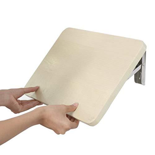 YNAYG Wand-Klapptisch Multifunktions-Wandklapptisch Klapptisch, Floating Table Platzsparender Hängetisch, für Arbeitszimmer Badezimmer Balkon