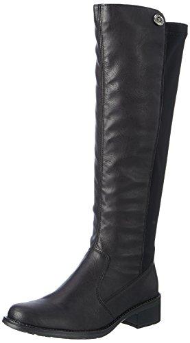 Rieker Damen Z7391 Hohe Stiefel (Schwarz 00), 42 EU