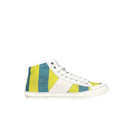 D.a.t.e. TENDER HIGH Sneakers Femme Tissu Jaune