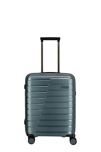 """Travelite Hartschalen-Koffer-Serie \""""AIR BASE\"""" von travelite in 2 Farben: unverwüstlich, funktional, cool Koffer, 55 cm, 37 L, Eisblau"""