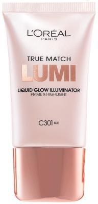 L'Oreal Paris True Match Lumi Liquid Glow Illuminator, Ice [C301] 0.67 oz by L'Oreal Paris