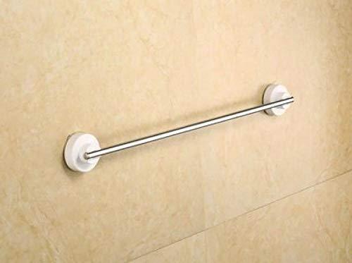 WOSBE Handtuchhalter mit starken Saugnapf Handtuchhalter Saugnapf ohne Bohren Saugnapfhaken 60CM