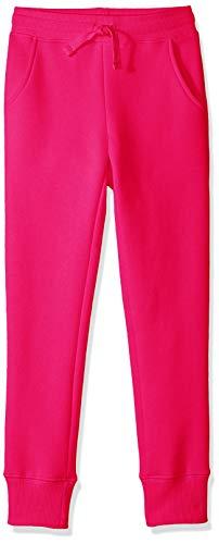 Amazon Essentials Fleece Jogger pants, Raspberry Sorbet, 4T 4t Fleece