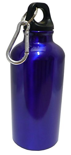 Personalized Aluminum Water Flask Bottle with Carabiner