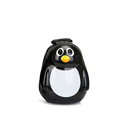YCYHMYF Cartone Animato Pinguino Madre Animale Carino Guscio d'uovo Zaino Bambino Trolley (13 Pollici)