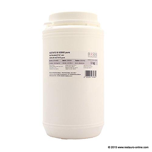 Acetat-Natrium Puro (c2h3nao2)-Zeus-1kg