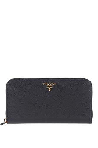 Prada Damen 1Ml506qwaf0002 Schwarz Leder Brieftaschen