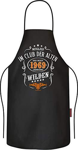 RAHMENLOS Das Männer-Geschenk zum 50. Geburtstag, original Grillschürze Kochschürze Küchenschürze