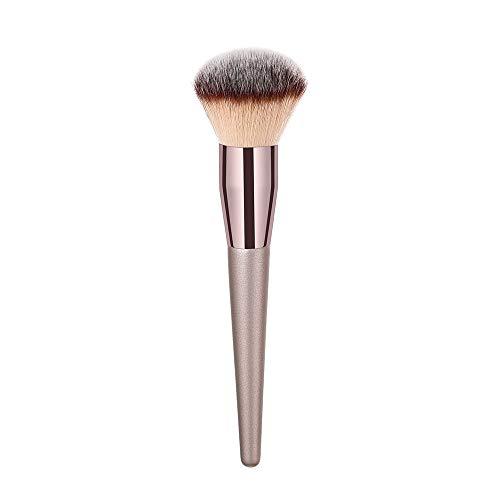 LSAltd 1 STÜCKE Holz Foundation Kosmetische Augenbrauen Lidschatten Pinsel Make-Up Pinsel Sets Werkzeuge (Münze ärmel)