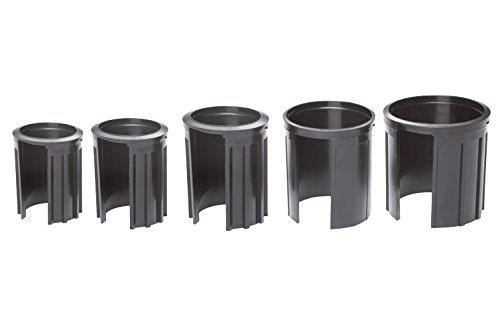 Doppler Granitsockel-Reduzierringe Innendurchm. 52,48,38,32,25 mm schwarz