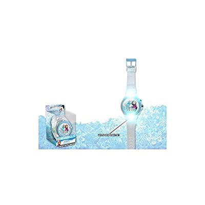 Disney Frozen - Reloj Digital con Correa Transparente (Kids WD17490) por Kids