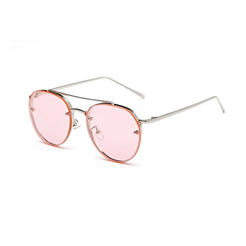 VRTUR Pilotenbrille Verspiegelt Unisex für Damen und Herren Sonnenbrille Brille mit Federscharnier UV400 Fliegerbrille Pornobrille in vielen Farbkombinationen (One size,A)