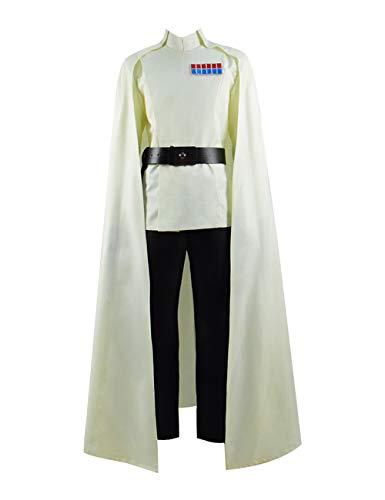 Schurke Kostüm Cosplay - Zhangjianwangluokeji Orson Krennic Cosplay Kostüm für Halloween und Karneval Kostümparty (M, Stil 1)