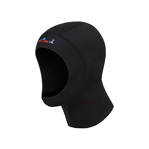 Juman634 Taucherhaube 1mm Sonnenschutz Warmer Neoprenanzug Neopren-Kappe Tauchkopfbedeckung zum Surfen Schwimmen Klein