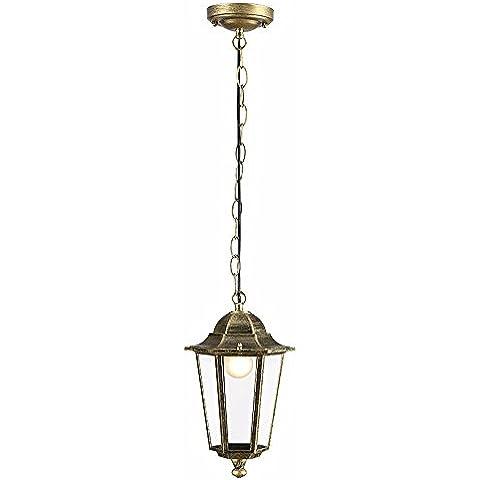 MSUXT lampade a sospensione Moderno e minimalista Arte in bronzo di alluminio di grandi dimensioni 22*38cm Soggiorno Camera da letto Studio
