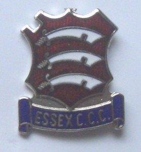 Essex C.C.C. Pin-Anstecker Emaille