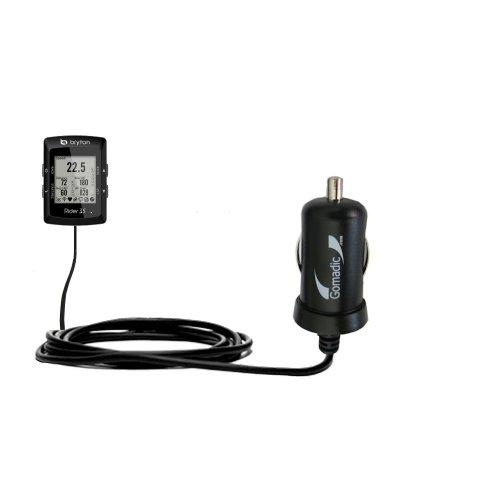 Caricabatterie DC Mini compatibile con Auto Avanzato Bryton Rider 35 2 Amp (10W) Realizzato con la Tecnologia TipExchange