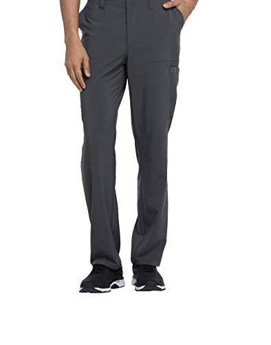 Dickies EDS Essentials by Men's Drawstring Cargo Scrub Pant Large Pewter Eds-pullover Hoodie
