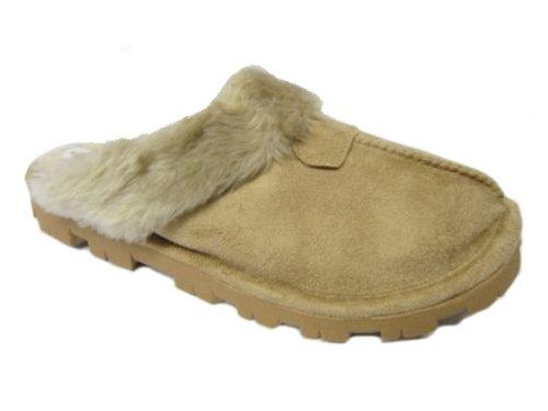 Jyoti, Pantofole donna Marron - Light Brown