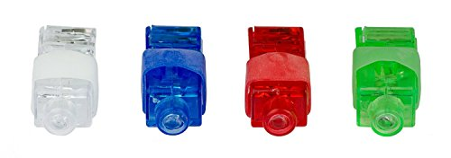 Preisvergleich Produktbild Kobert-Goods 16 Led Fingerlichter,  finger laser,  laser finger beams,  perfekt für Karneval,  Geburtstage,  die Disco,  freizeittrend,  auch einsetzbar für Licht-Graffiti