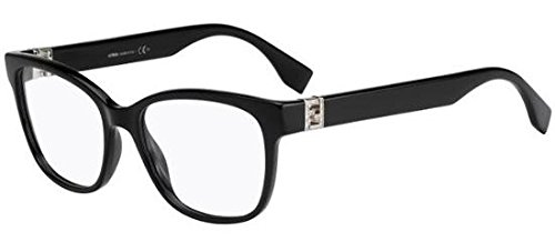 Fendi Brillen Für Frau 0113 D28, Black Kunststoffgestell