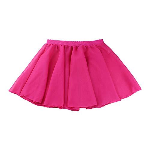 Chiffon Petticoat Kostüm - Hzjundasi Mädchen Tanz Wrap Rock - Ballett Leotard Basic Chiffon Tutu Rock Petticoat Tanzbekleidung Kostüm