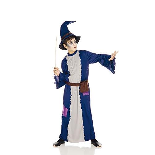 Sorcier Kostüm - Unbekannt AEC aq00104/S Kostüm-petit SORCIER, 5/7Jahre
