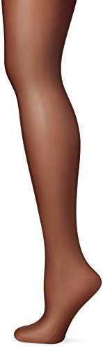 Pretty Polly Damen Strumpfhose Naturals-8D Sandal Toe Tights, Schwarz, Medium (Strumpfhosen Toe Sandal)