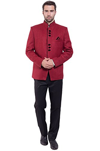Wintage - Blazer - Homme Rouge - Pinkish Red
