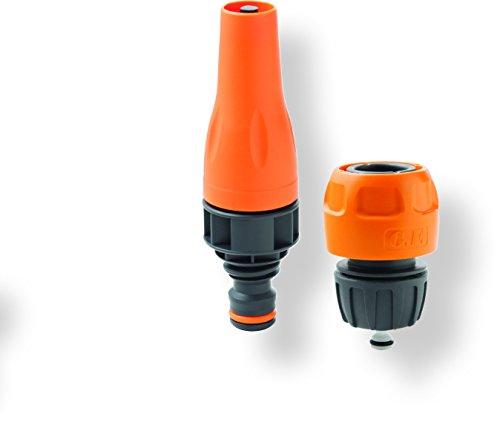 'Kit lance de pulvérisation avec raccord pour tuyau d'arrosage 1/2 \
