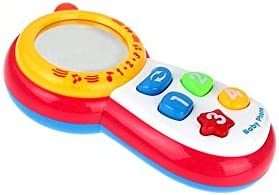 Weekendy Jouet drôle de bébé  s s s Nourrisson Belle Puzzle Main saisir Le Jouet coloré Miroir de sécurité Cadeau 428185