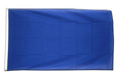 ge, blaue Fahne 60 x 90 cm, MaxFlags® (Blaue Flagge Mit Weißem X)