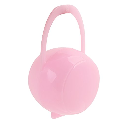 Baby Schnullerbox 3 farbe auswahl - Rosa, one size