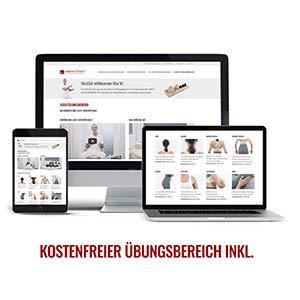 Liebscher & Bracht Schlaufe, erleichtert Übungen zur Engpassdehnung, für eine effiziente Schmerztherapie zusammen mit Yoga und Faszien-Training - 8