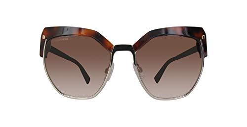 Dsquared2 Unisex-Erwachsene DQ0253 54F 56 Sonnenbrille, Braun (Avana Rossa/Marrone Grad),