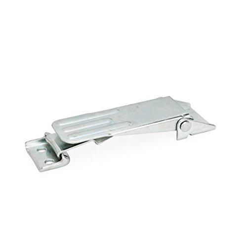 2 St/ück Griffl/änge: 63mm kunststoffbeschichtet Schraube Stahl br/üniert Ganter Normelemente Verstellbare Klemmhebel mit Gewindeschraube Griff Zink-Druckguss schwarz GN 300-63-M8-25-SW
