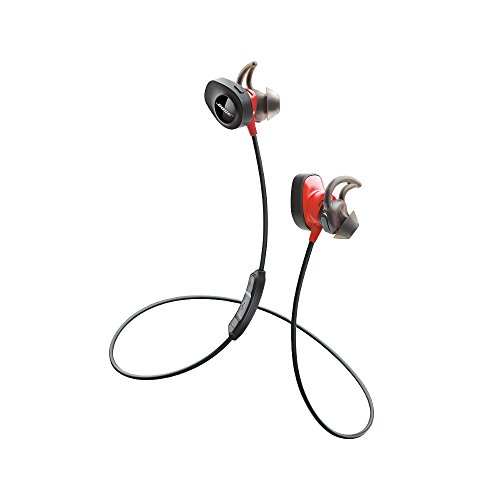 Bose SoundSport Pulse Wireless Bluetooth In-Ear Headphones with Built-In Heart Rate Sensor - Power Red