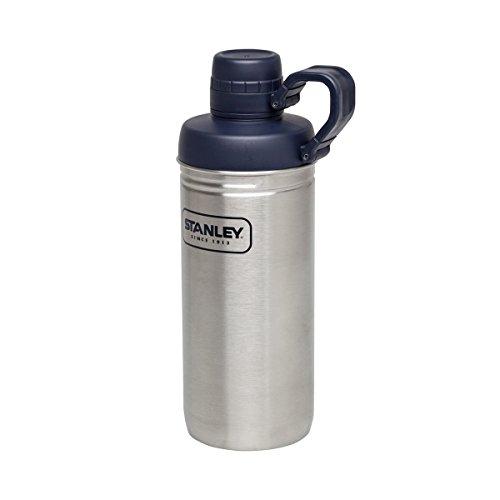Stanley Uni Adventure Water Bottle, 621 ml Edelstahl 18/8-rostfrei-abschraubbarer Kunststoffdeckel-kleine Trinköffnung, Mehrfarbig, M -