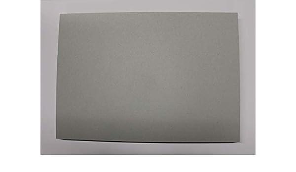 0,5mm starke Graupappe Sonderformate des Maschinengraukartons ist auf Anfrage m/öglich 420 x 594 mm 25 St/ück Graukarton Format DIN A2