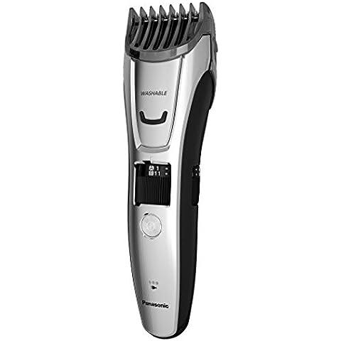 Panasonic ER-GB80 - Afeitadora (Rectángulo, Acero inoxidable, Plata, 100 - -240 V, Barba, Head,