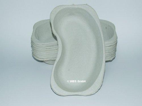 Nierenschale aus Pappe 20 Stück