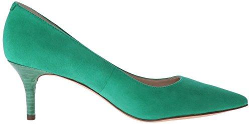 Pompa Nine West Margot Dress Suede Green Suede