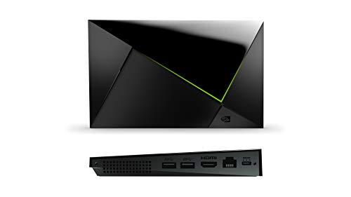 Nvidia SHIELD TV Pro, Procesador con Control Remoto, Chrome, Negro