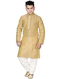 Desi Sarees Mens Mischung Seide Kurta Pyjama Shalwar Kameez 766