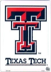 Texas Tech Light Switch Covers (single) Plates LS10164 by Smart Blonde
