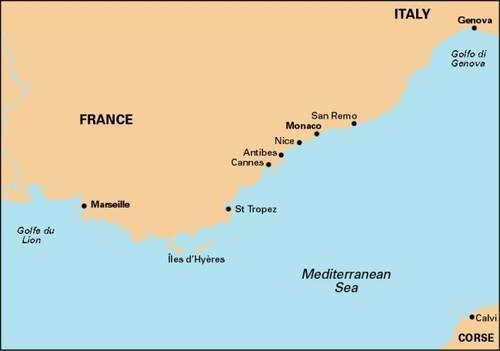 Imray Chart M15: Marseille to San Remo (M Series, Band 15)